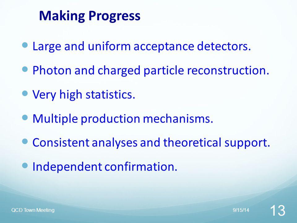 Making Progress Large and uniform acceptance detectors.