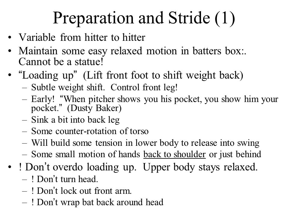 Preparation and Stride (1)