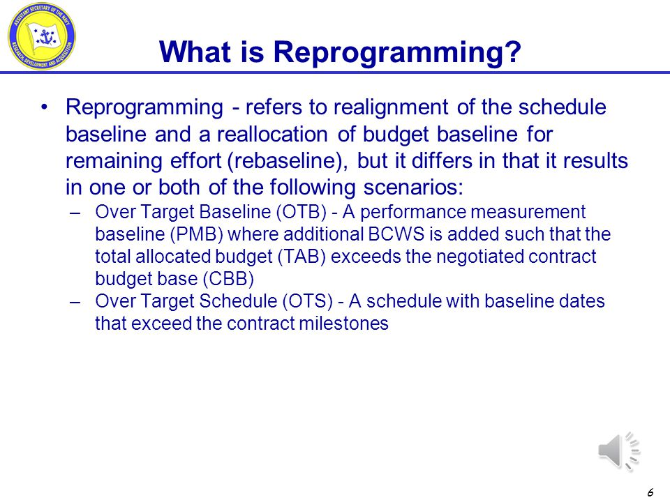 What is Reprogramming