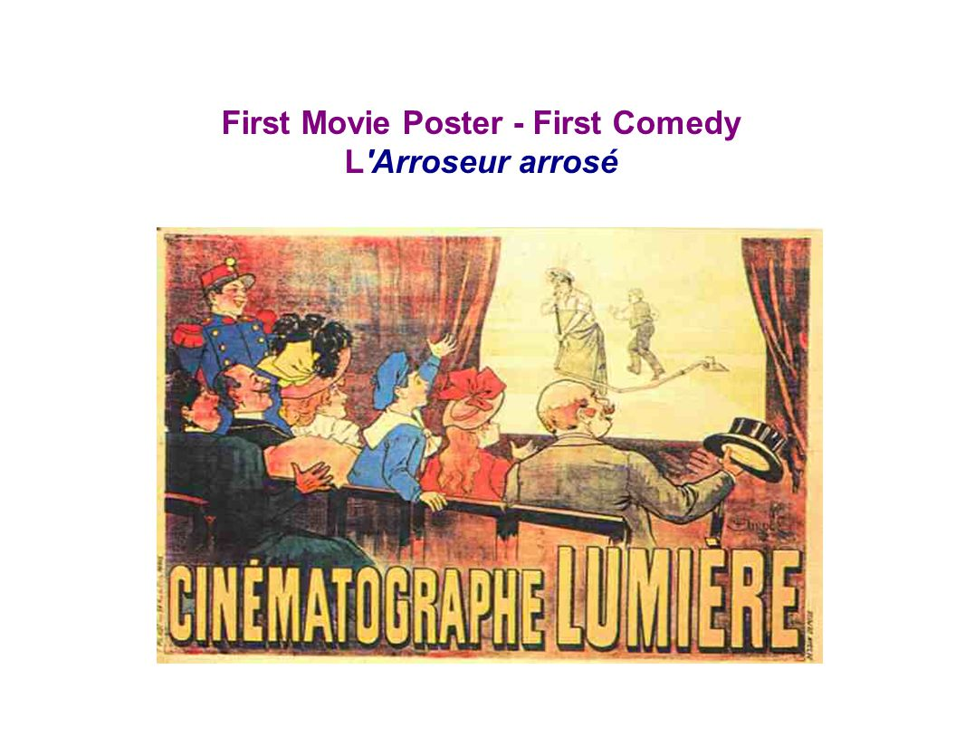 First Movie Poster - First Comedy