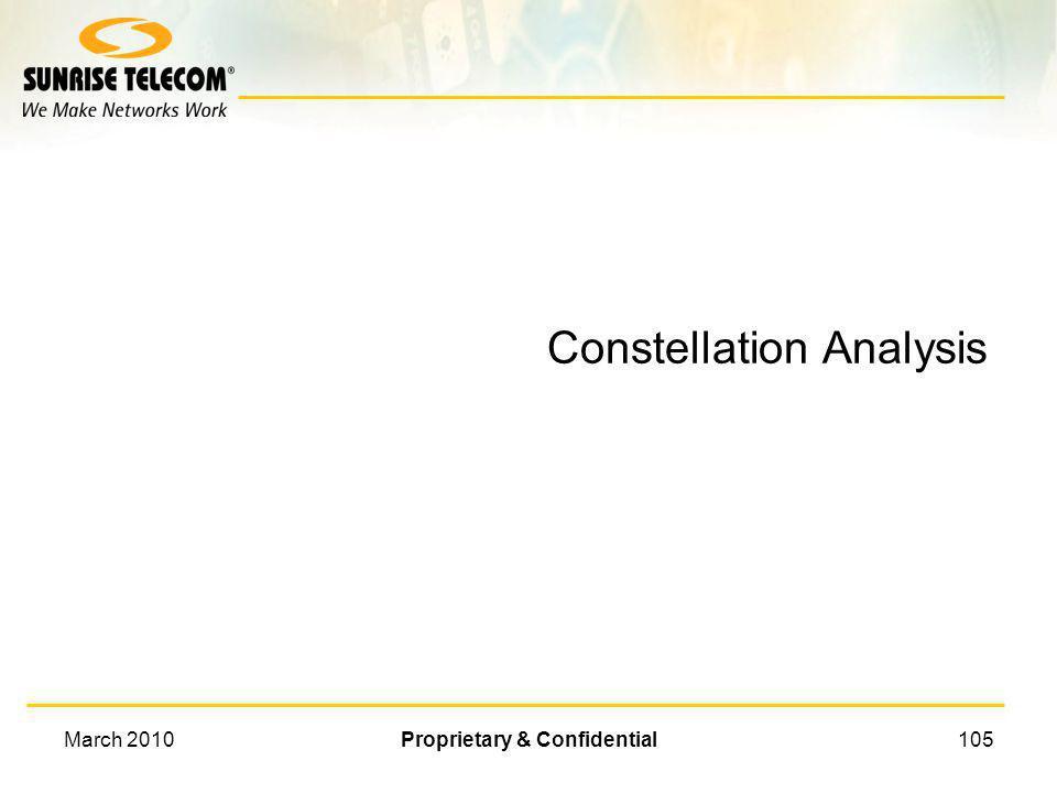 Constellation Analysis