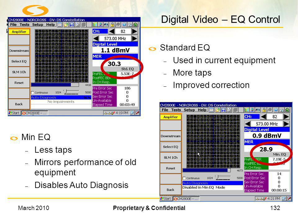 Digital Video – EQ Control