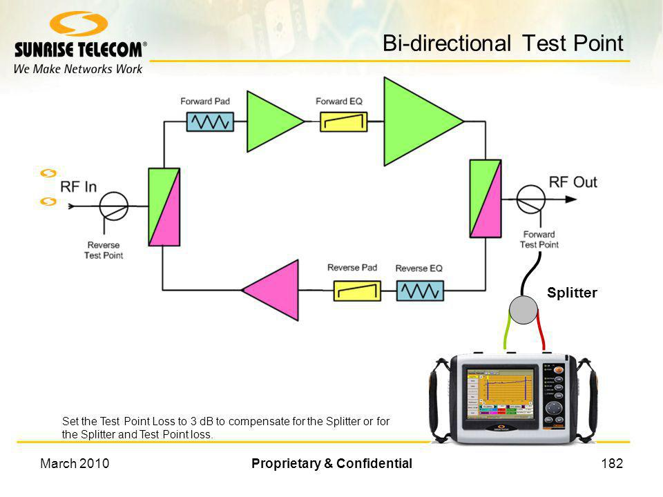 Bi-directional Test Point