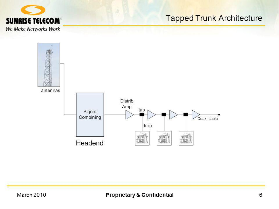 Tapped Trunk Architecture