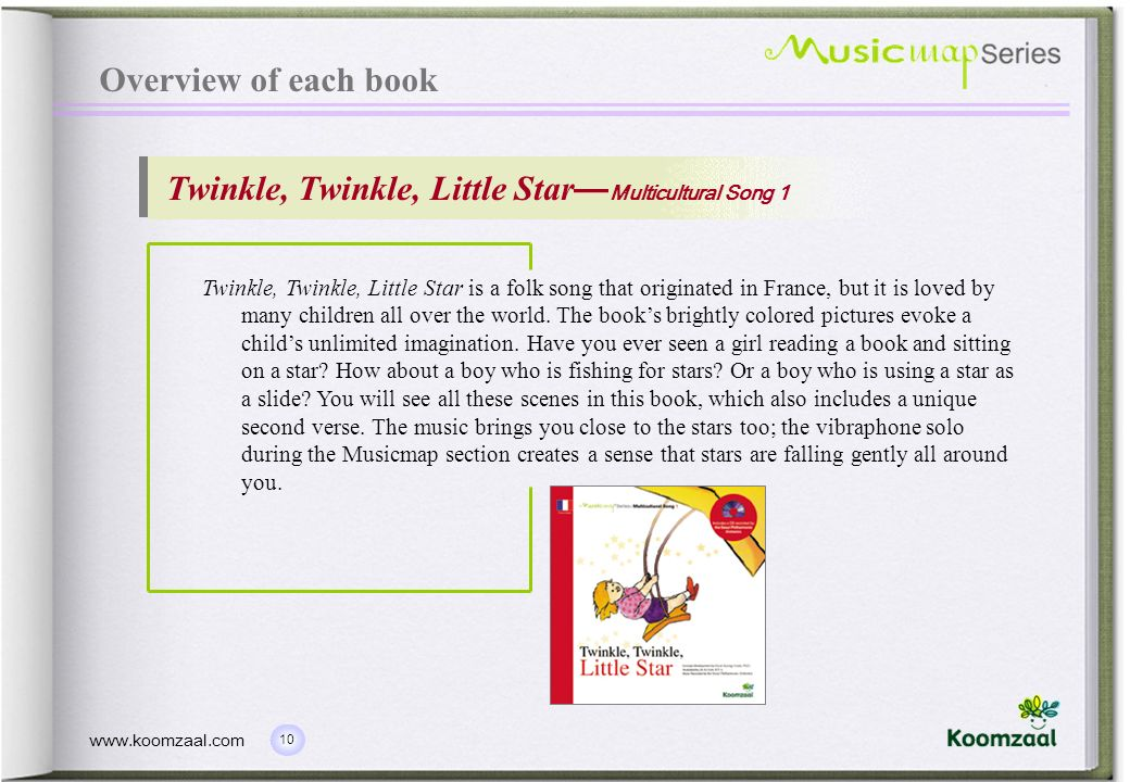 Twinkle, Twinkle, Little Star—Multicultural Song 1