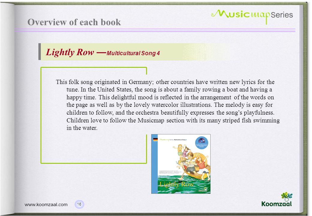 Lightly Row —Multicultural Song 4