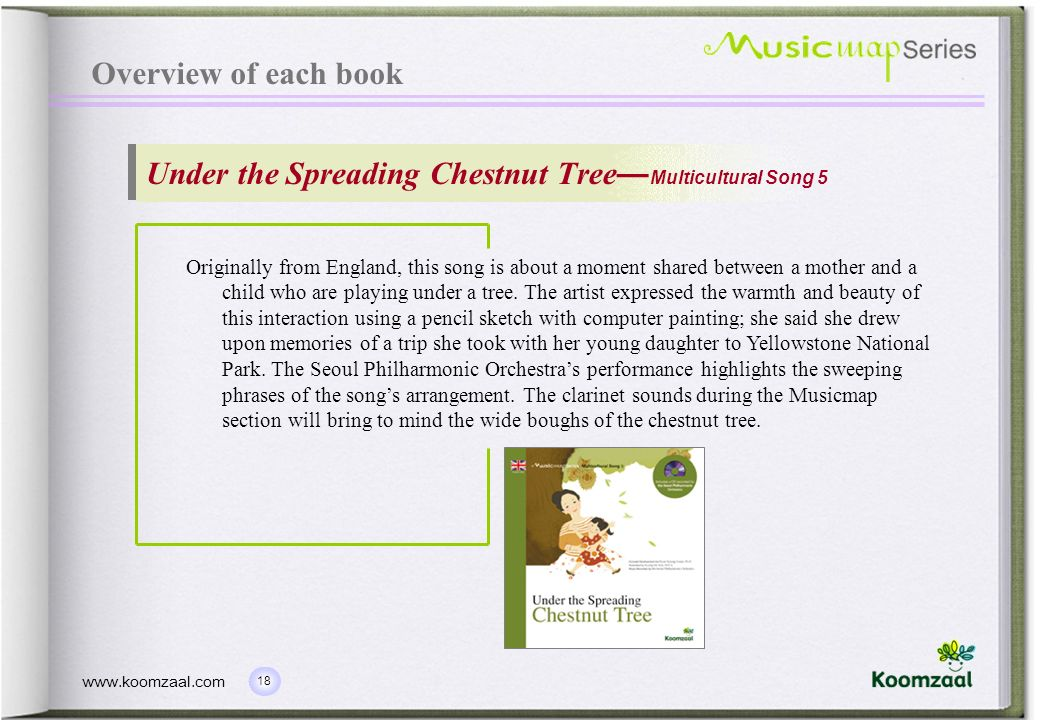 Under the Spreading Chestnut Tree—Multicultural Song 5