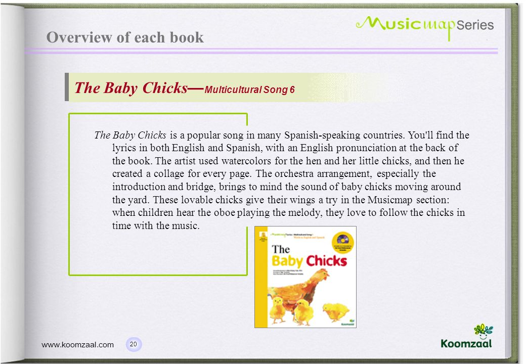 The Baby Chicks—Multicultural Song 6