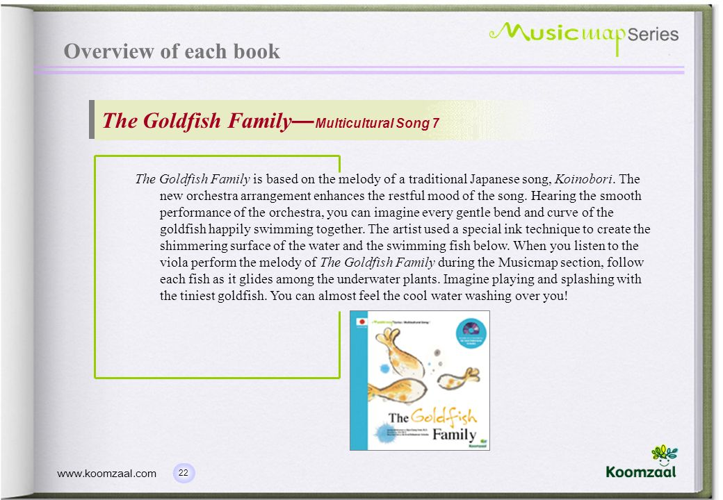 The Goldfish Family—Multicultural Song 7
