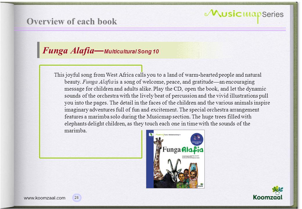 Funga Alafia—Multicultural Song 10