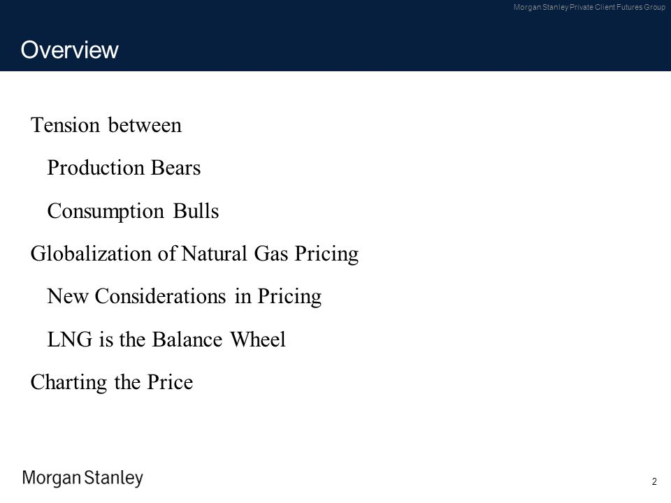 Overview Tension between Production Bears Consumption Bulls