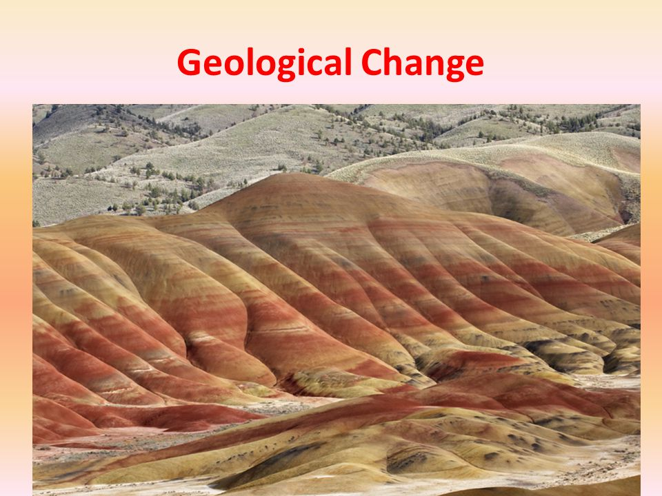 Geological Change
