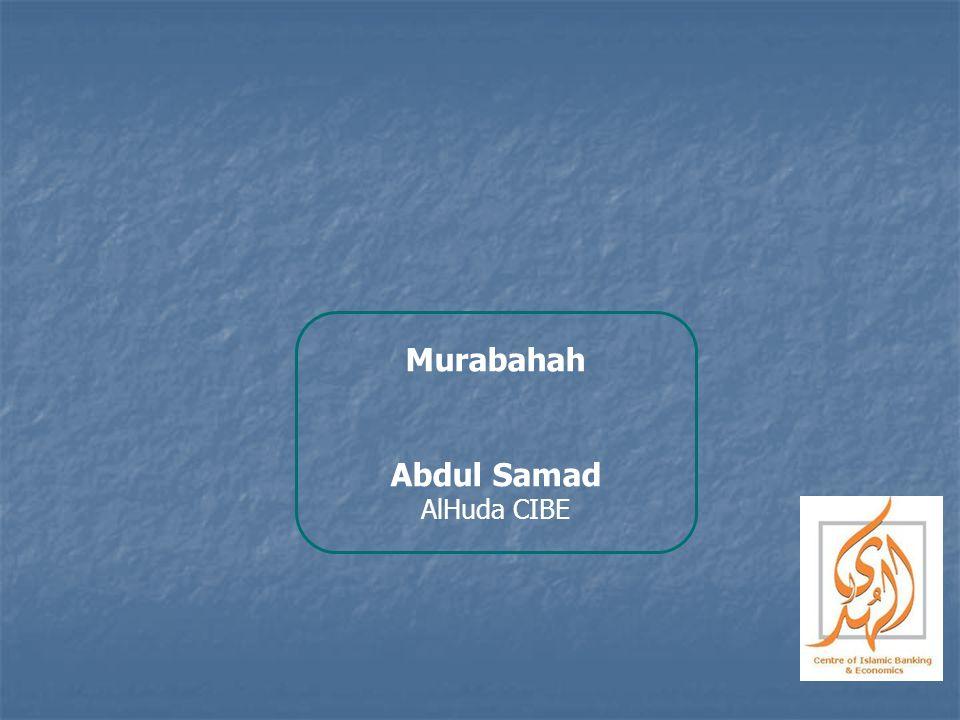 Murabahah Abdul Samad AlHuda CIBE