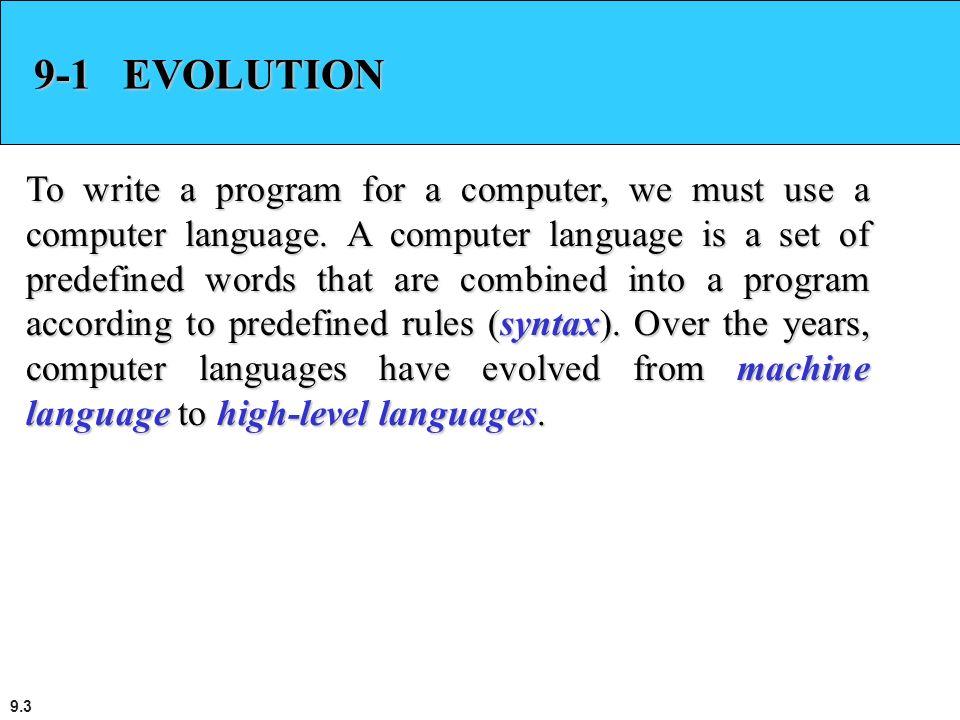 9-1 EVOLUTION