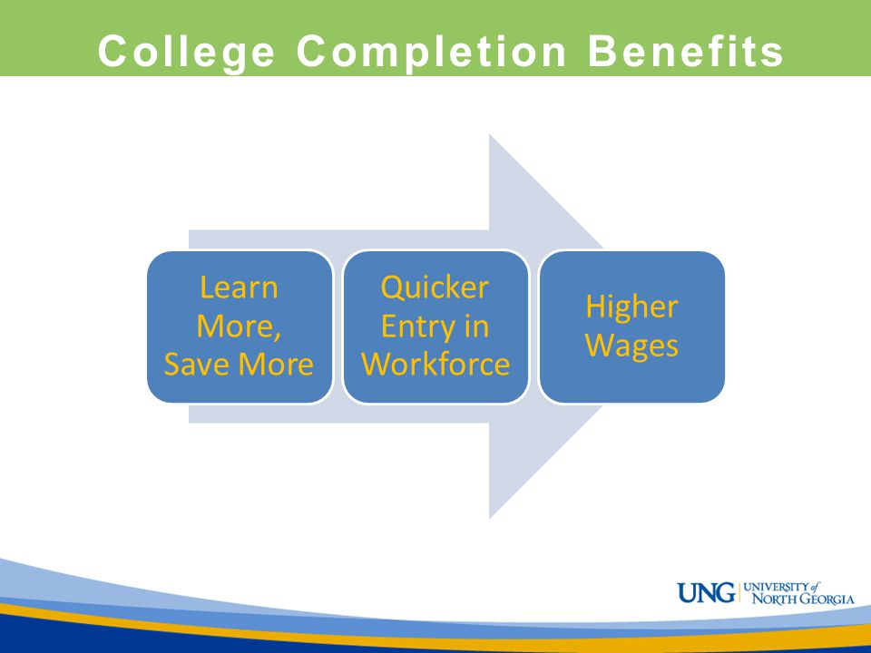 College Completion Benefits