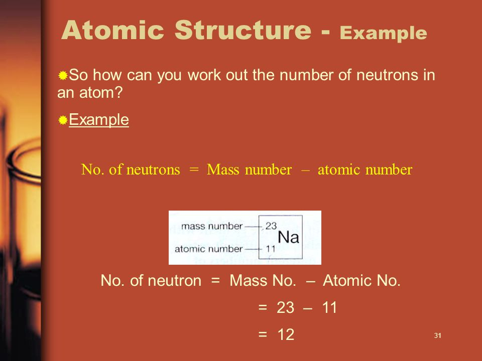 Atomic Structure - Example