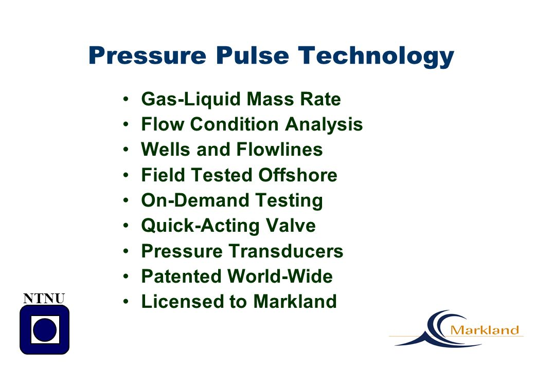 Pressure Pulse Technology