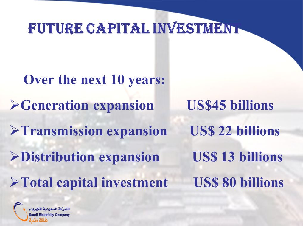 FUTURE CAPITAL INVESTMENT