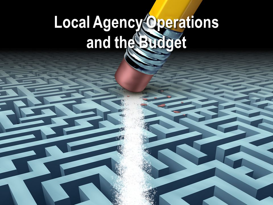 Local Agency Operations and the Budget