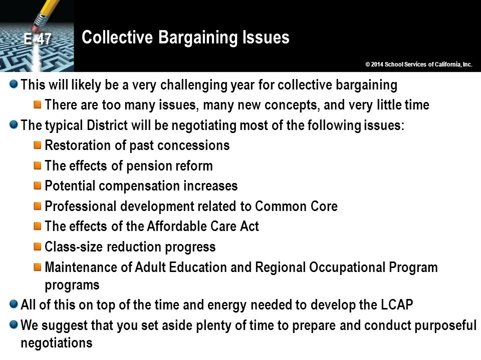 Collective Bargaining Issues