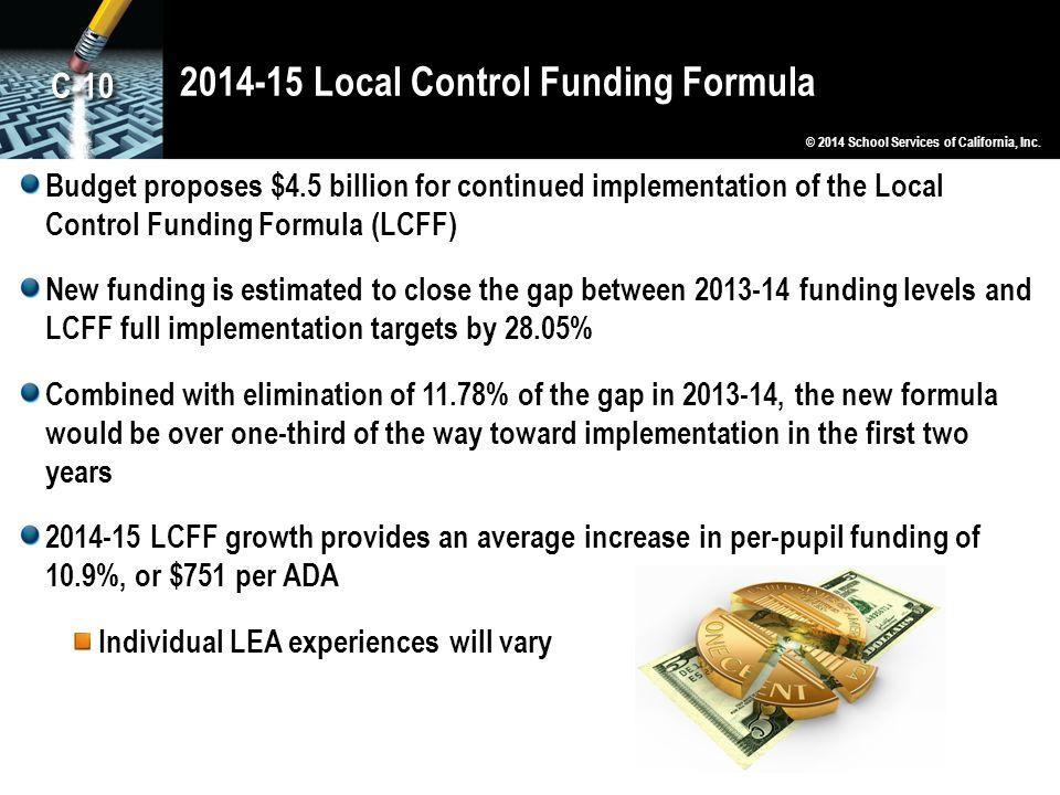 2014-15 Local Control Funding Formula