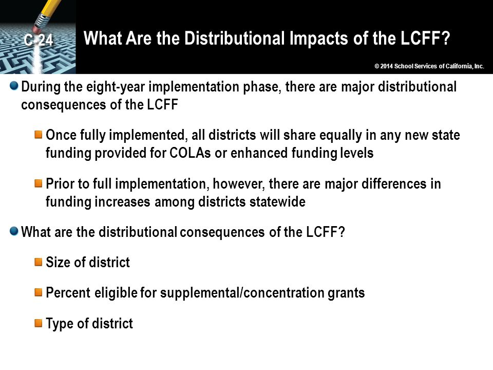 What Are the Distributional Impacts of the LCFF