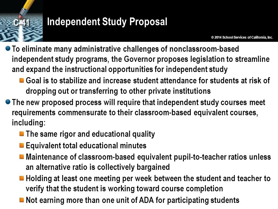 Independent Study Proposal