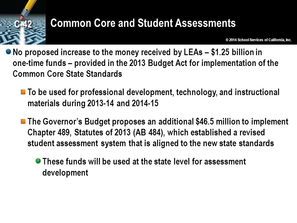 Common Core and Student Assessments