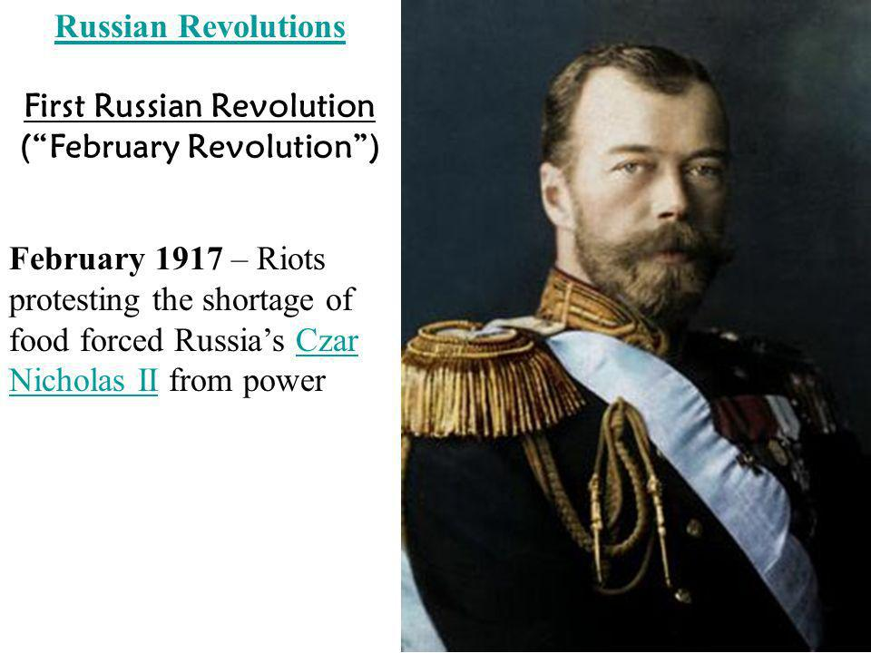 First Russian Revolution ( February Revolution )