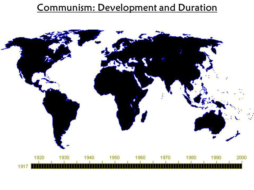 Communism: Development and Duration