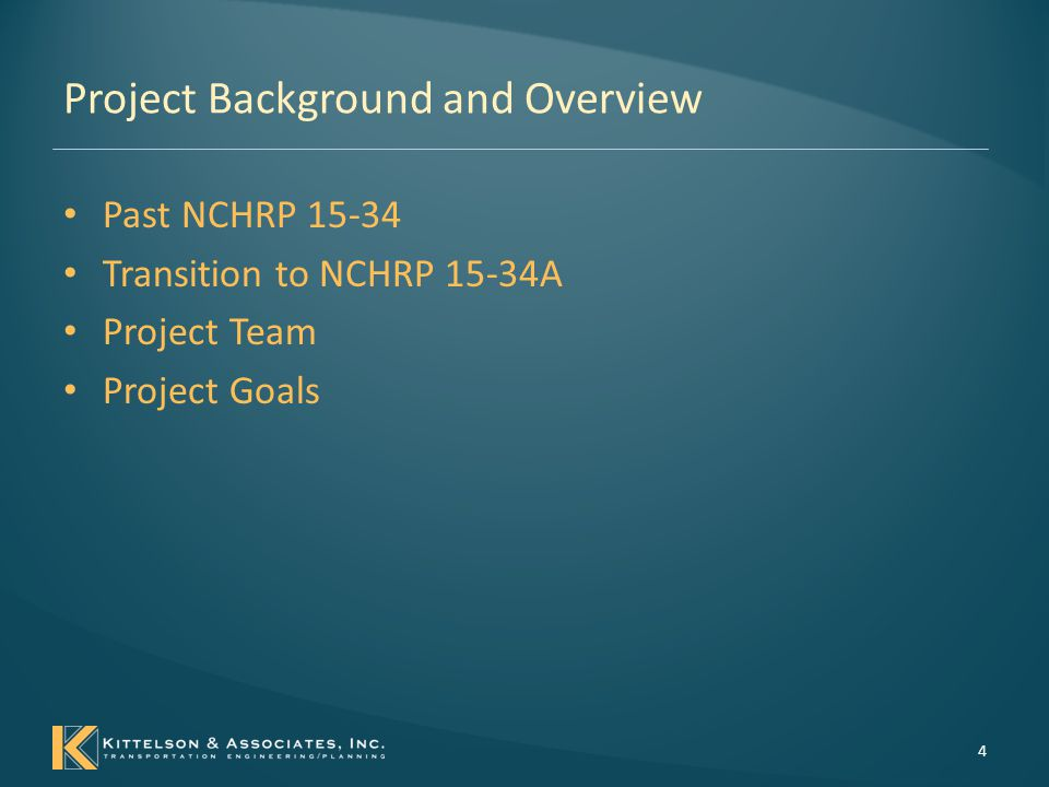 Project Background and Overview