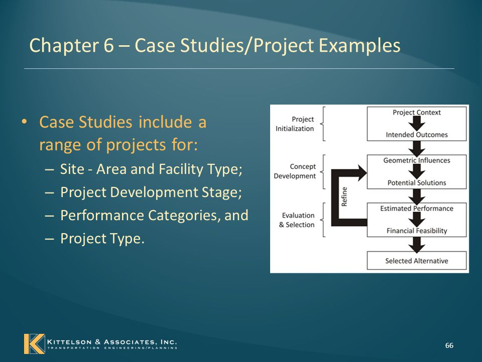 Chapter 6 – Case Studies/Project Examples