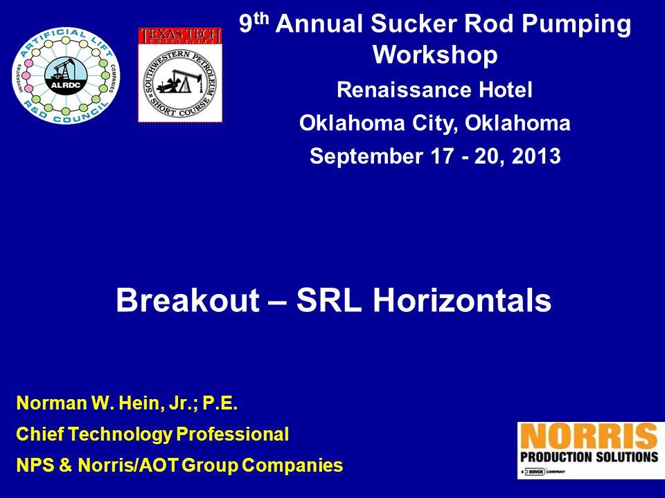 Breakout – SRL Horizontals