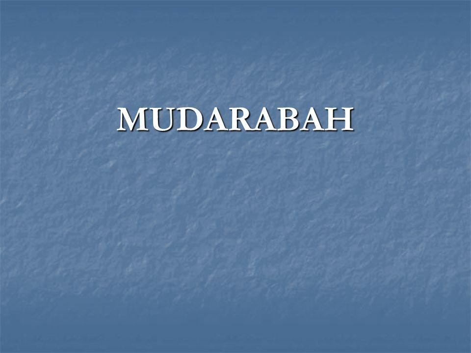 MUDARABAH