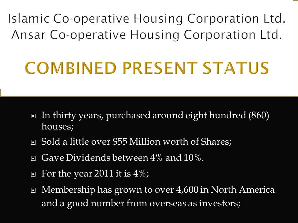 Islamic Co-operative Housing Corporation Ltd