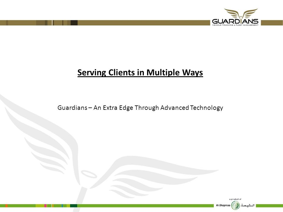 Serving Clients in Multiple Ways