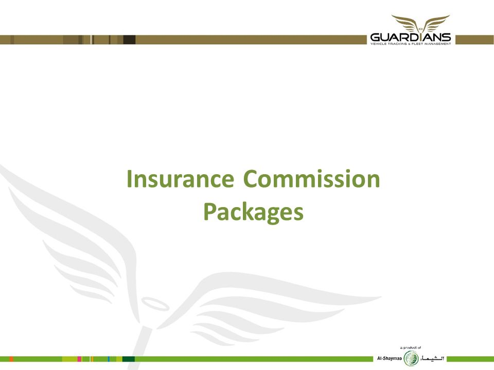 Insurance Commission Packages