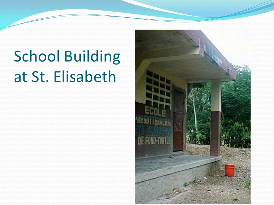 School Building at St. Elisabeth