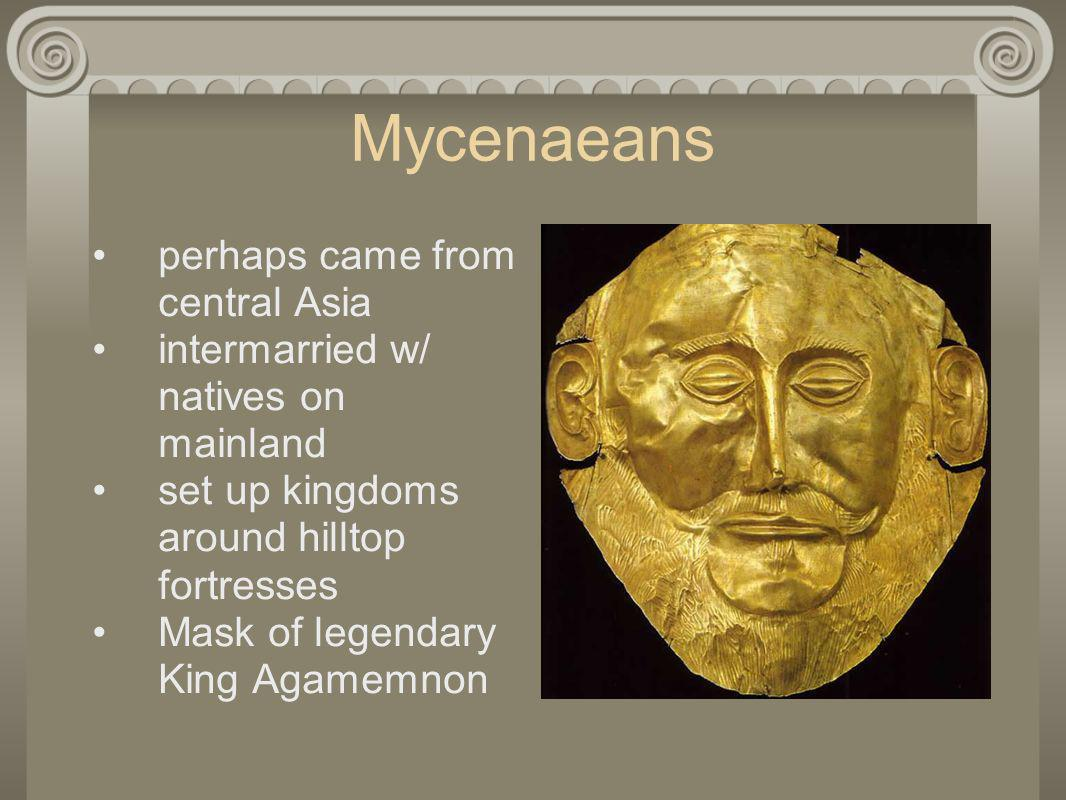 Mycenaeans perhaps came from central Asia