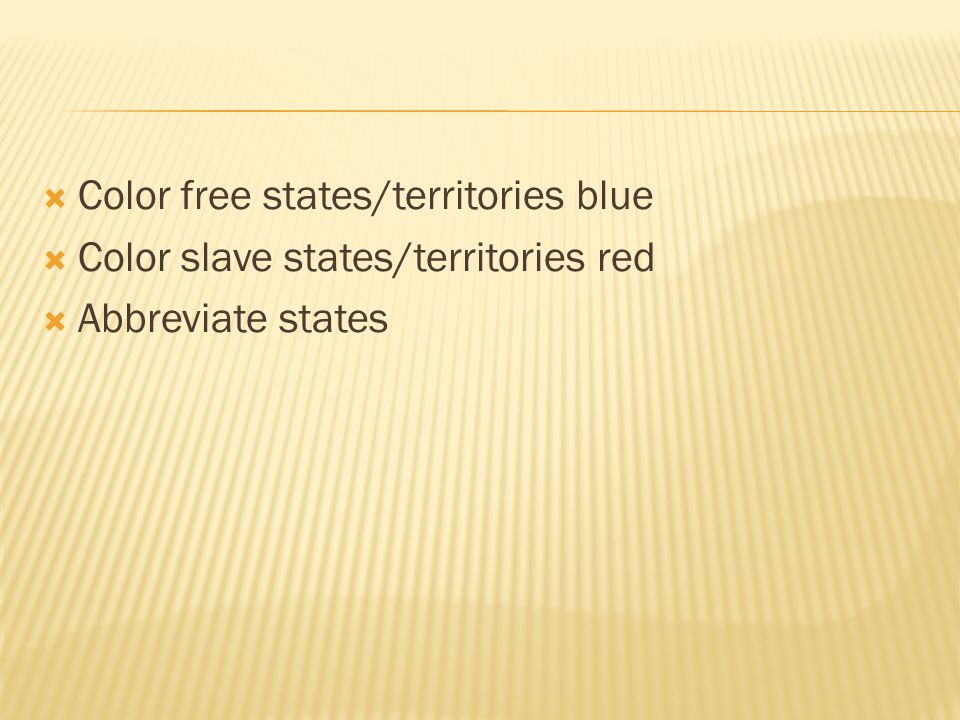 Color free states/territories blue