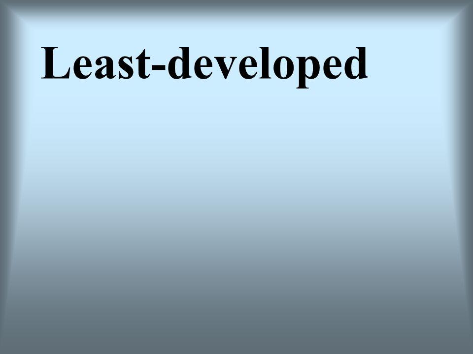 Least-developed