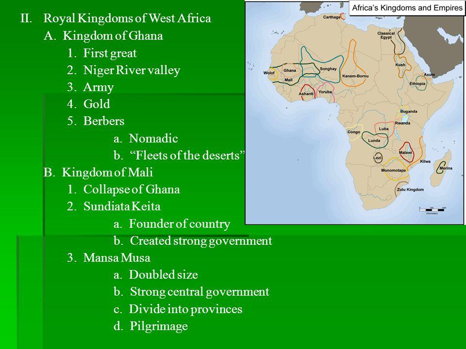 Royal Kingdoms of West Africa
