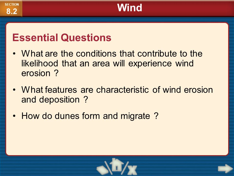 Wind Essential Questions