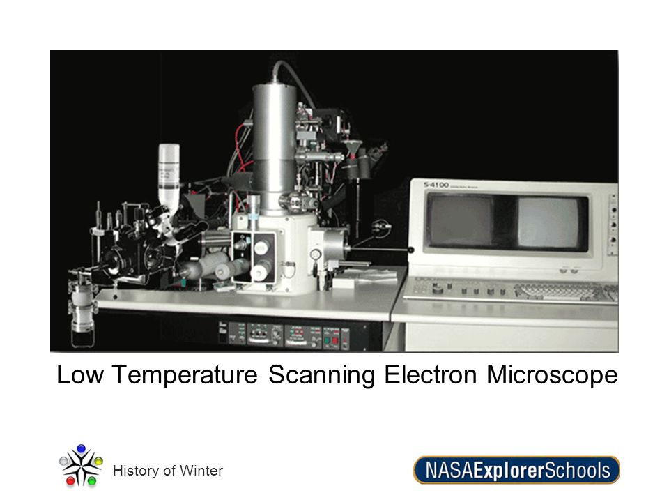 Low Temperature Scanning Electron Microscope