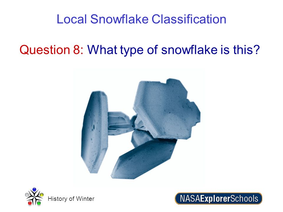 Question 8: What type of snowflake is this