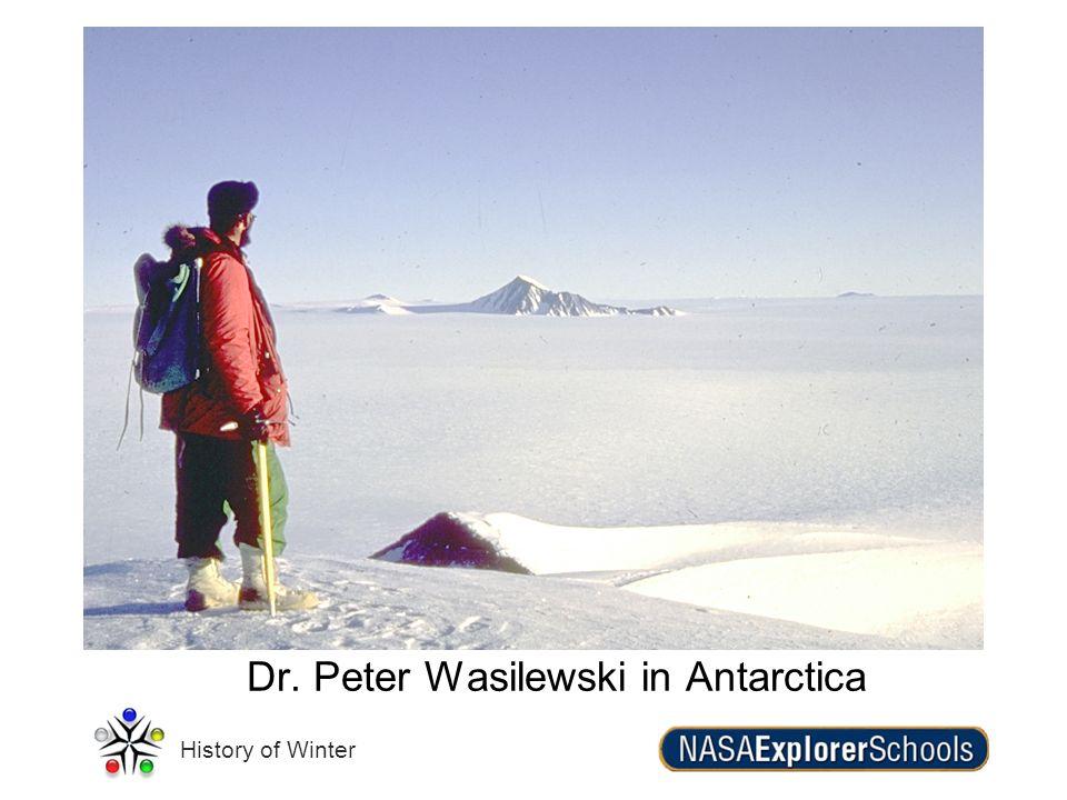 Dr. Peter Wasilewski in Antarctica