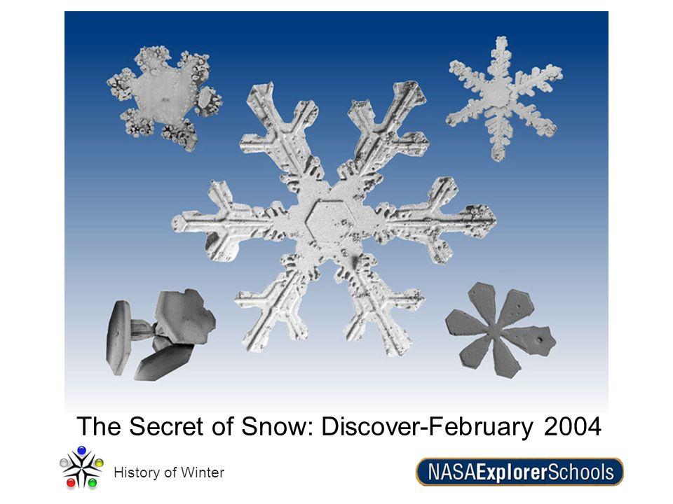 The Secret of Snow: Discover-February 2004