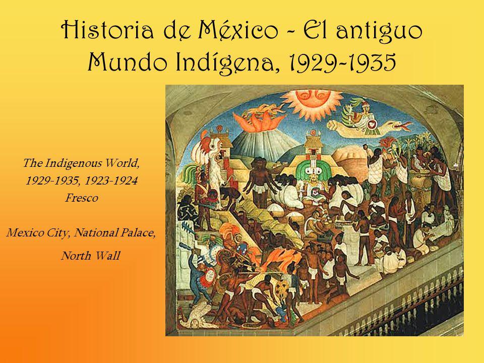 Historia de México - El antiguo Mundo Indígena, 1929-1935