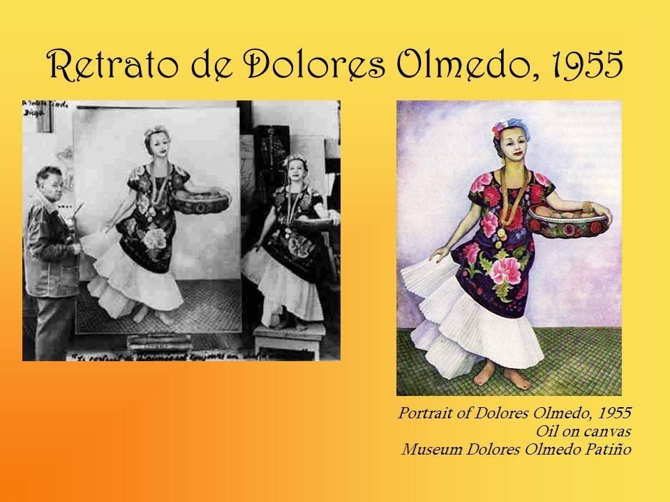 Retrato de Dolores Olmedo, 1955