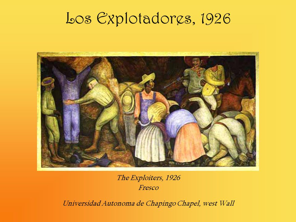Universidad Autonoma de Chapingo Chapel, west Wall